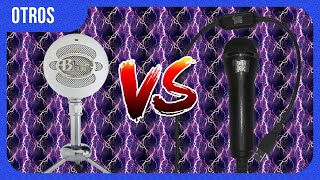 Blue Snowball ICE vs Guitar Hero Microphone Comparison