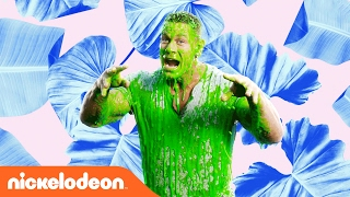John Cena Gets Slimed | Kids' Choice Awards Music Video | Nick