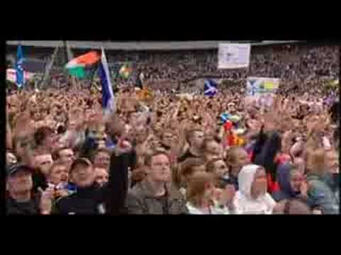The Proclaimers 500 Miles (live 8) Music Videos
