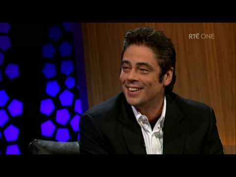 The Late Late Show: Benicio Del Toro