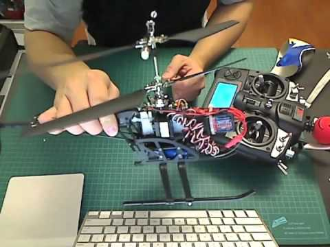 Esky Lama V4 RC helicopter xtreme mods with Turnigy/FlySky 9x