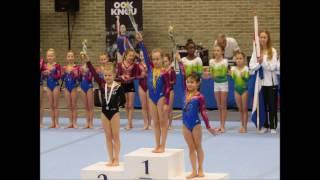 Turnen - Jadey Walda (instap N1) Regio Finale Breda 22-01-2017