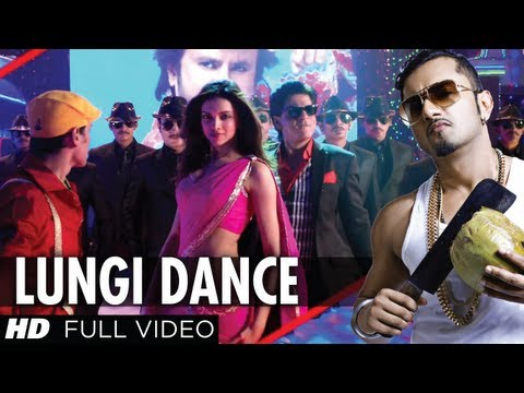 Lungi Dance Chennai Express  New Video Feat. Honey Singh, Shahrukh Khan, Deepika
