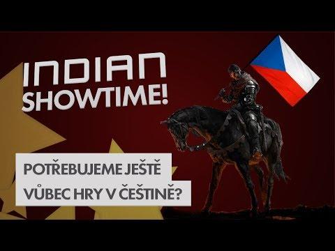 Potřebujeme ještě vůbec hry česky? - INDIAN SHOWTIME #17 thumbnail