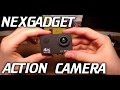 Nexgadget 4k Action Camera Unboxing And Review