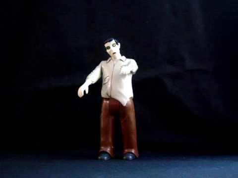 R/C Remote Control Zombie figure Walks & Moans !!