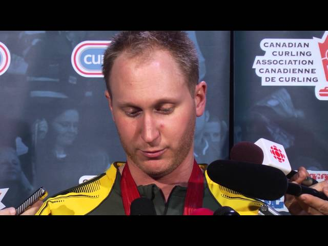 Gold Medal Media Scrum - 2013 Tim Hortons Brier