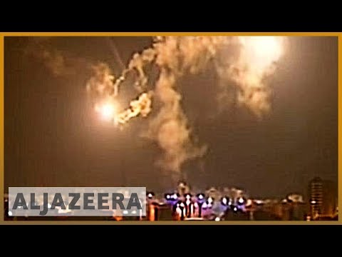 Israeli missile lands in Gaza live on Al Jazeera