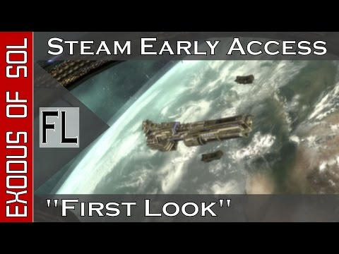 Exodus of Sol: Early Access || Space Combat Sim (1080p YT-PG) First Look