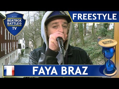 Faya Braz from France - Freestyle - Beatbox Battle TV