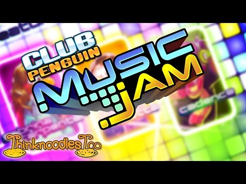Club Penguin: Music Jam 2014 Party Walkthrough