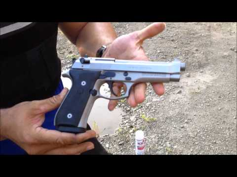 BERETTA 96 VS BERETTA 92 SHOWDOWN