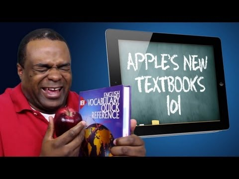 Apple's New iBooks 2 and iBooks Author with Youtube Star Lamarr Wilson!