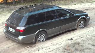 Summer offroad Subaru Outback