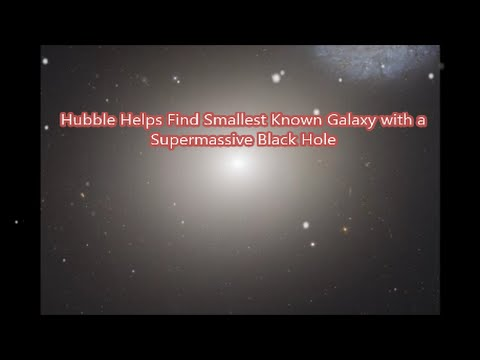 New Release! Smallest Known Galaxy with a Supermassive Black Hole