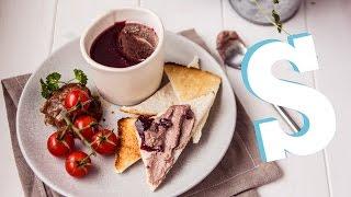 Homemade Pâté & Melba Toast Recipe - SORTEDfood