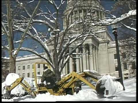 Blizzard of 1996 in Charleston