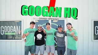 PRANKING our MANAGER! ( GOOGAN HQ Grand Opening)