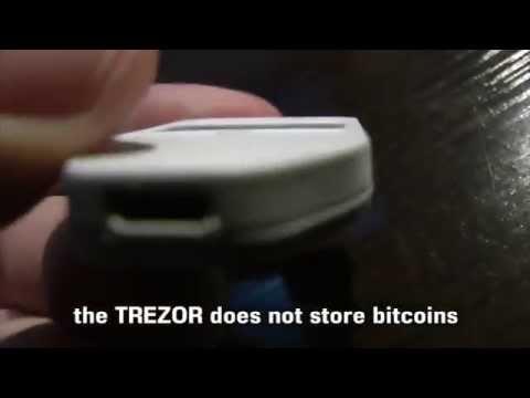 Easy Trezor Hardware Bitcoin Wallet Tutorial