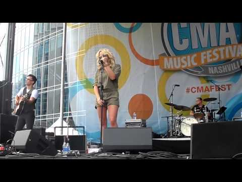 Jamie Lynn Spears How Could I Want More CMA Fest 2014