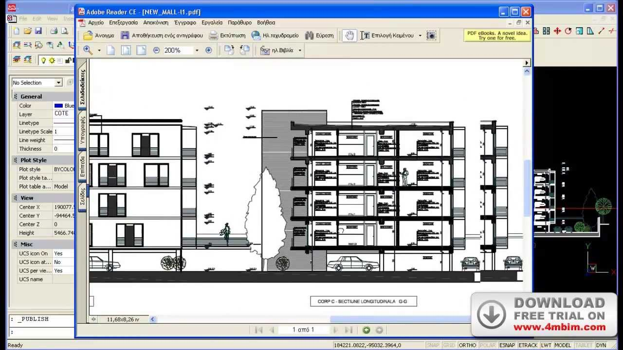 4mcad 14 Smart Alternative To Autocad Youtube
