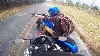 28 Stupid & Crazy Motorcycle Close Calls & Near Misses | Moto Madness
