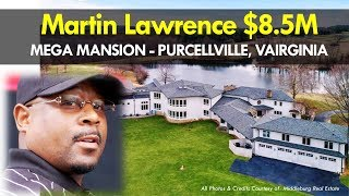 Martin Lawrence $8.5M Mansion | 19290 Telegraph Springs Rd Purcellville, Virginia | Celebrity Homes