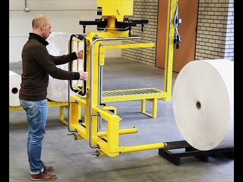 Roll handling solution for heavy 600Kg-1300Lb rolls by Dotec, RH600 OD