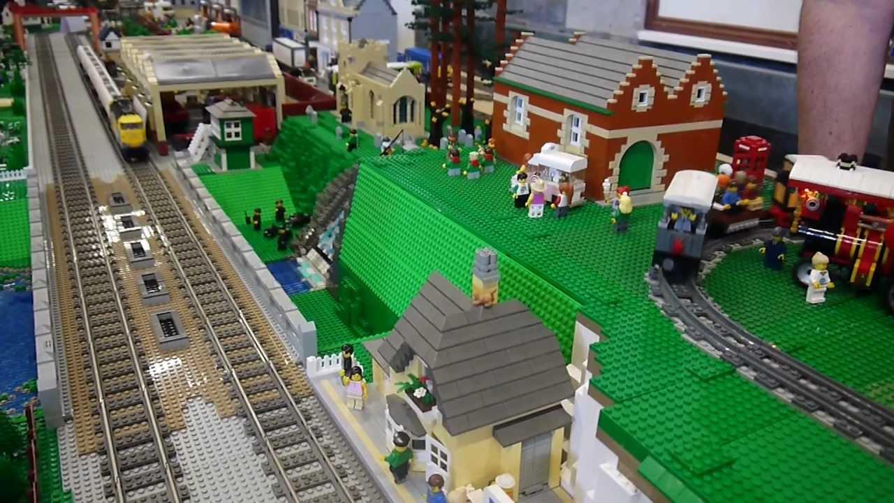 Lego Railway Trains At Brickish Great Western Lego Show