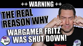The Real Reason Why Wargamer Fritz was Shut Down! ⚠ Don't let it happen to YOU! ⚠