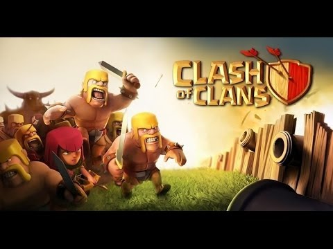 Clans на андроид - построй свою базу title=Взломанная Clash of Clans