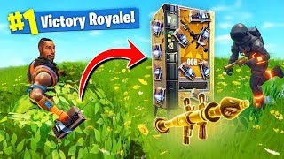 TROLLING With The *NEW* Vending Machines In Fortnite Battle Royale