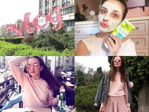 Влог #35 очищающие маски для лица , гуляем по Киеву со мной Лера Каменская