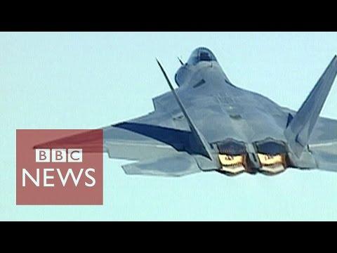F22 Raptor - World's most advanced jet in 60 secs - BBC News