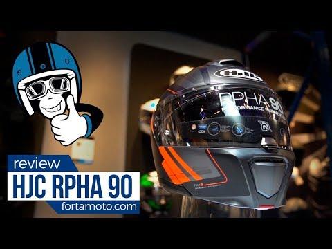 Review HJC RPHA 90 modular helmet | FortaMoto.com