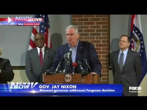 Missouri Gov. Jay Nixon speaks ahead of Ferguson announcement