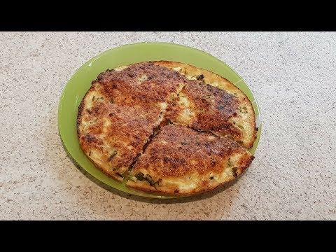 Рецепт: диетический осетинский пирог без муки, без крахмала, без сахара из отрубей