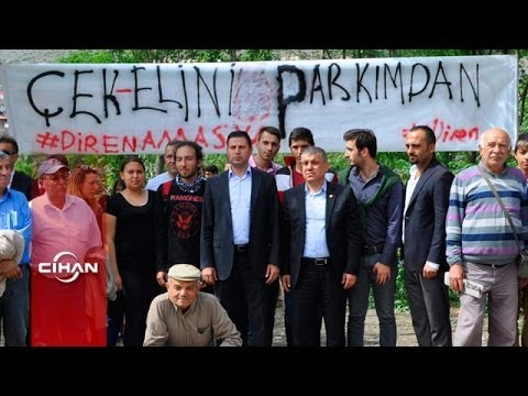 Amasya'da piknik alanına, benzin istasyonu tepkileri sürüyor