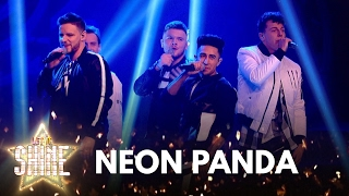 Neon Panda perform 'Marry You' by Bruno Mars - Let It Shine - BBC One