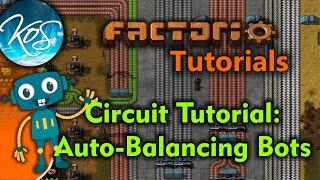 Factorio Tutorials: Balancing Your Robot Minions Automatically