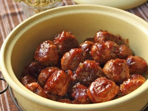 Cranberry Glazed Turkey Meatballs Recipes — Dishmaps