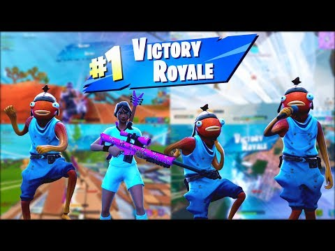 The DUMBEST Fortnite Squad hit these INSANE Trickshots in SEASON X...  (Road To A Trickshot)