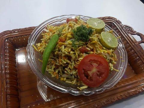 Bhel puri || churmuri || chats by mallamma ajji