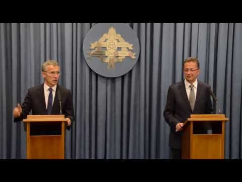 NATO Secretary General Joint Press Conference with Minister of Defence of the Slovak Republic