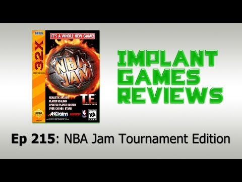 NBA Jam Tournament Edition (Sega 32x) - IMPLANTgames Reviews