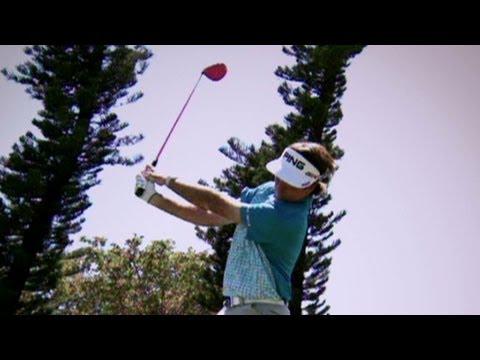 Check out Bubba Watson's trick shots
