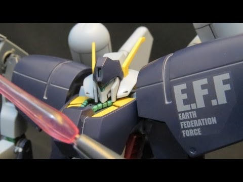 HGUC Byarlant Custom (Part 3: MS) Gundam Unicorn EFF Gunpla model review 