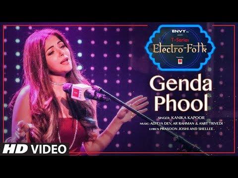 ELECTRO FOLK: Genda Phool | Kanika Kapoor, Jubin Nautiyal | Aditya Dev | T-Series