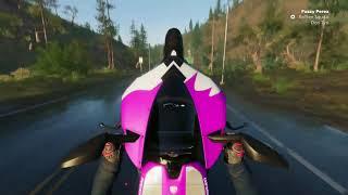 Balade en moto + Nouvelle MOTO