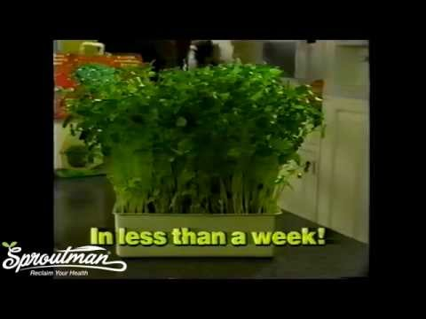 Sprout House Vintage TV commercial